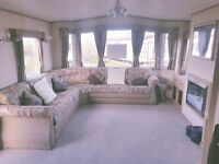 PRE-OWNED STATIC CARAVAN FOR SALE AT WHITLEY BAY HOLIDAY PARK ON NORTH EAST COAST NR SANDY BAY