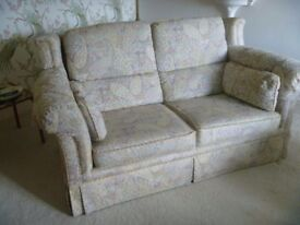 lounge suite consisting of a 2 seater sofa and 2 easy chairs
