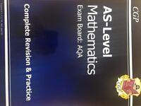 AQA AS-Level maths revision textbook