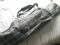 Snowboard : Burton Bullet with Burton custom bindings and Dakine bag