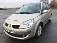 08 RENAULT SCENIC 1.5 DCI DYNAMIQUE MPV IMMACULATE ONLY £1999