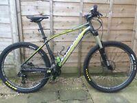"Specialized Rockhopper expert EVO upgraded mountain bike 27.5 wheels size large 19"""