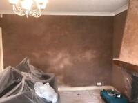 Plastering and Decorating