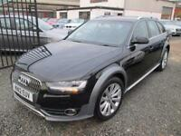 Audi A4 Allroad 3.0 TDI QUATTRO 5dr S TRONIC + SATNAV + BLACK LEATHER + FULL AUDI SE... (black) 2012