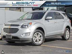 2016 Chevrolet Equinox LT AWD! 1 OWNER! ONLY 22K! *NAV*SUNROOF*H