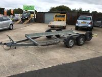 Brian James Clubman Car transporter trailer **New LED LIGHTS** (volkswagen,audi,bmw,mercedes)