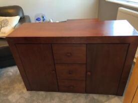 Mahogany Unit, real wood, good condition