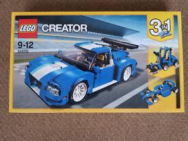 Lego 31070 Creator Turbo Track Racer - Brand New