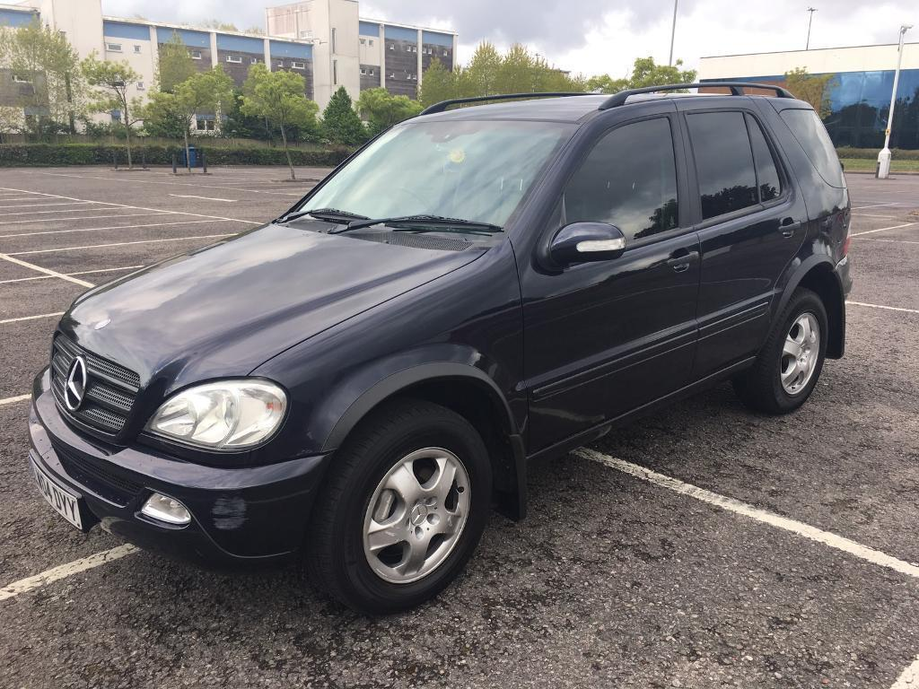 2004 mercedes ml 270 cdi in poole dorset gumtree. Black Bedroom Furniture Sets. Home Design Ideas