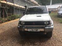 Mitsubishi Pajero 2.8 td swb import. Awesome 4x4
