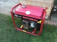 BRIGGS & STRATTON LARGE GENERATOR - 115v & 230v suit builder - catering - camping - boat