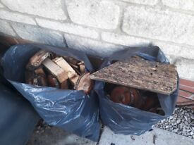 Free firewood, small pieces. Collection from Bradley Stoke