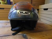 HJC open faced helmet £35.00