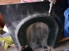 Cast Iron Fire Insert 91.5Hx76W opening - 65Hx35W