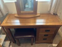Oak furniture land dressing table