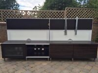 Tv Cabinet With Backing Panels