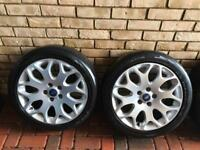 "Ford Focus 2007-2012 17"" Alloy Wheels x 4 with tyres"