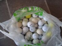 used golf balls. bags of 120 practice/improver grade