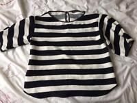 Zara xs top (worn once)