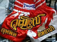 TWINS muay thai shorts, good condition, couple marks