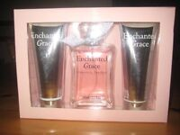 ENCHANTED GRACE PERFUME, BODY LOTION AND SHOWER GEL