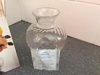 Lead Crystal vase