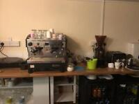 Coffee machine & coffee grinder