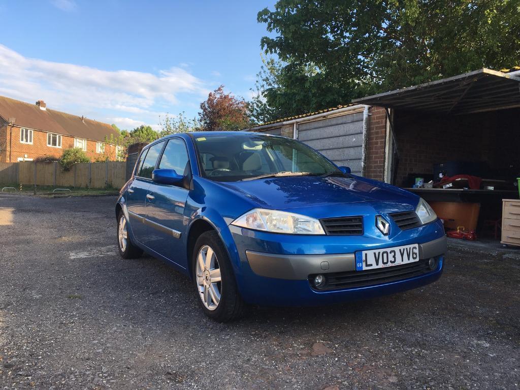 Renault Megane 2003 1.6