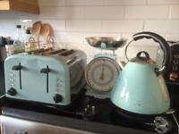 Matching Kitchen Kettle, Toaster & Weighing Scales