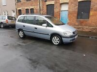 Automatic 7 Seats Vauxhall Zafira with long mot ,ideal for family ,px welocme