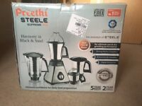 Preethi [STEELE SUPREME 750] Mixer Grinder (FROM INDIA)