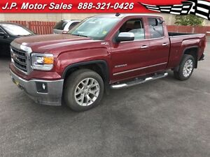 2014 GMC Sierra 1500 SLT, Crew Cab, Leather, 4x4  56, 000km