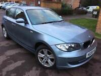BMW 1 Series 2.0 118d SE 5door – Automatic – Blue/Grey – Full Leather Interior - Excellent Condition
