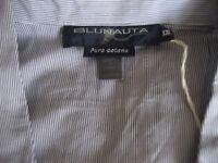 Pyjamas, PJ's, NEW with TAGS, XXL Men's Quality Stripe (Blue & White)