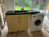 NEFF Oven/hob and sink