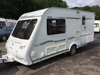 ☆ 2007/08 MODEL COMPASS MAGNUM MENDIP 2 BERTH ☆ TOURING CARAVAN ☆ MOTOR MOVER ☆ FULLY SERVICED ☆