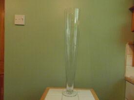 Tapered Glass Vases