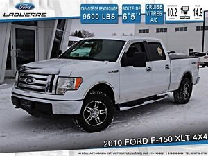 2010 Ford F-150 **XLT*4X4*AUTOMATIQUE*CRUISE*A/C**