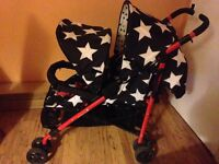 Cosatto all star double tandem buggy Pushchair