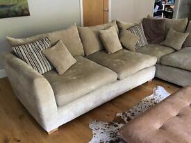 Sofa & love seat - module corner design