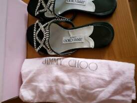 Jimmy Choo evening shoes