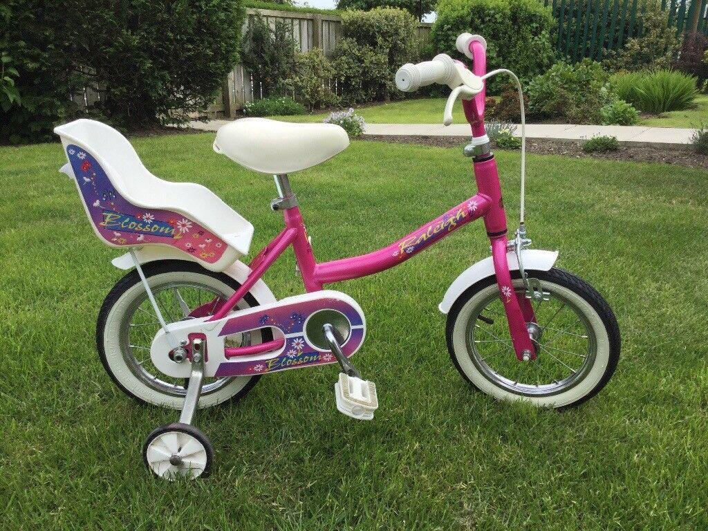 Raleigh bike, girls age approx 2yrs - 4yrs