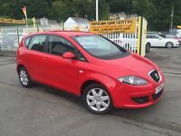 SEAT ALTEA 2.0 TDI Stylance DSG 5dr Auto (red) 2009