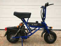 Di Blasi R7E Folding Moped - Pit Bike, or for a Motorhome, Campervan, Caravan, Boat, Light Aircraft