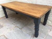 7ft cottage dining table