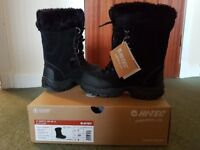 New boxed hitect st moritz size 5 snow boots