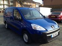 Peugeot partner 1.6 hdi 5 seater with rear fold away seats super economical & reliablr long mot