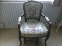 Two Antique Reproduction Chairs