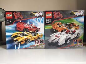 Lego Speed Racer BUNDLE - Sets 8158 & 8159