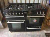 Rangemaster torledo 110 cooker and hood
